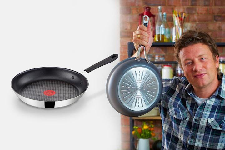 Tefal Jamie Oliver Stainless steel stekpanna 24 cm