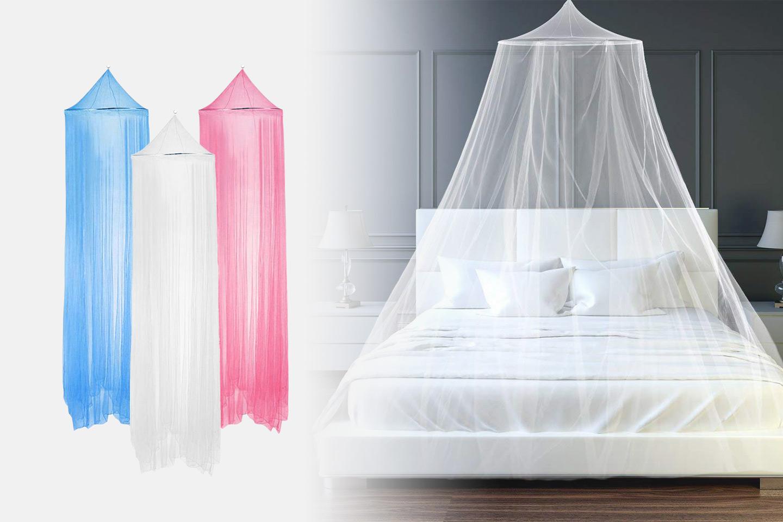 Sänghimmel med myggnät (1 av 7)