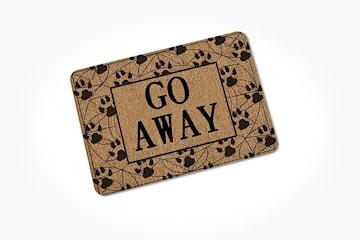 ''Go Away'' dørmatte
