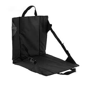 Svart, Camping Chair Portable, Bærbar campingstol, ,