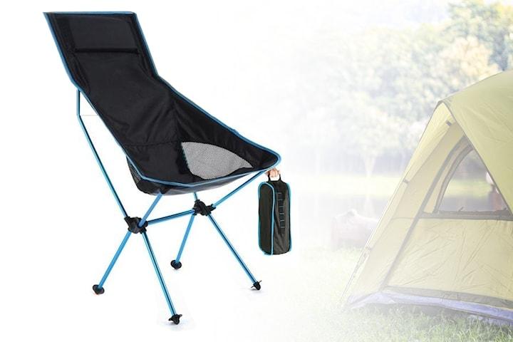 Hopfällbar campingstol