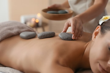 Hot Stone-massage, 75 minuter