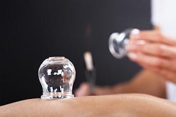 Massasje med akupunktur eller kopping hos Tianlai terapisenter på Vika
