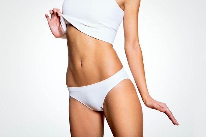 Icke-kirurgisk fettreducering på magen