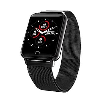 Svart, Heartbeat Smartwatch, Sportklocka med hjärtmonitor, ,