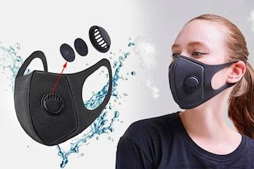 Vaskbar ansiktsbeskyttelse 3-, 6- eller 9-pack