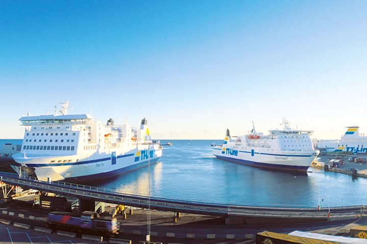 Tysklandferge for 5 personer inkl.  kabin og bil med TT-Line - gyldig i hele 2020