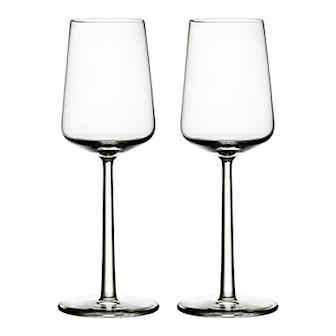 White Wine, Glass from Iittala, Red wine or white wine, 2pcs, Iittala Essence vitvinsglas, ,