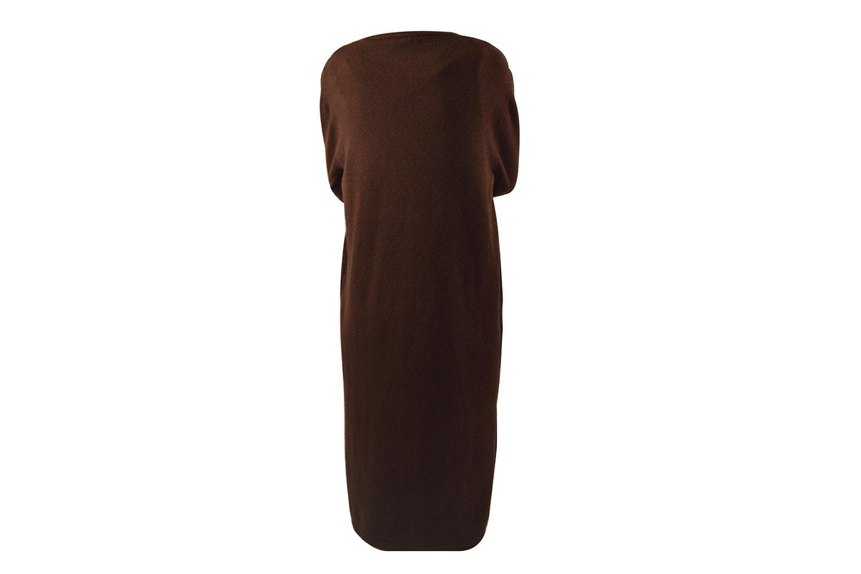 Knälång klänning med lös passform