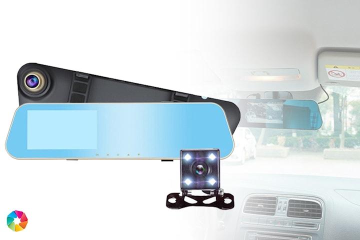 Clip-on dashcam