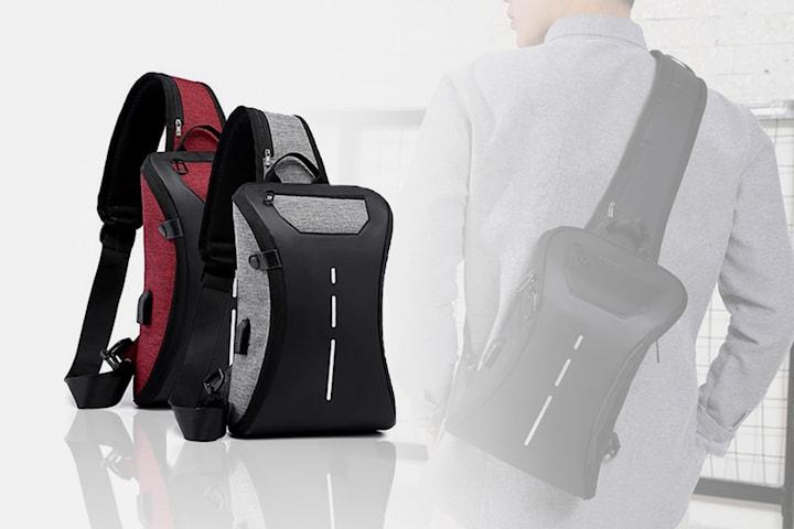 Smidig väska med USB