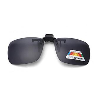Svart, L, Clip On Sunglasses, Löstagbara solglas till glasögon, ,