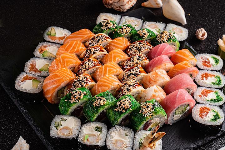 Kvalitets sushi hos Hy's Sushi og Asian Dining avd Ringen
