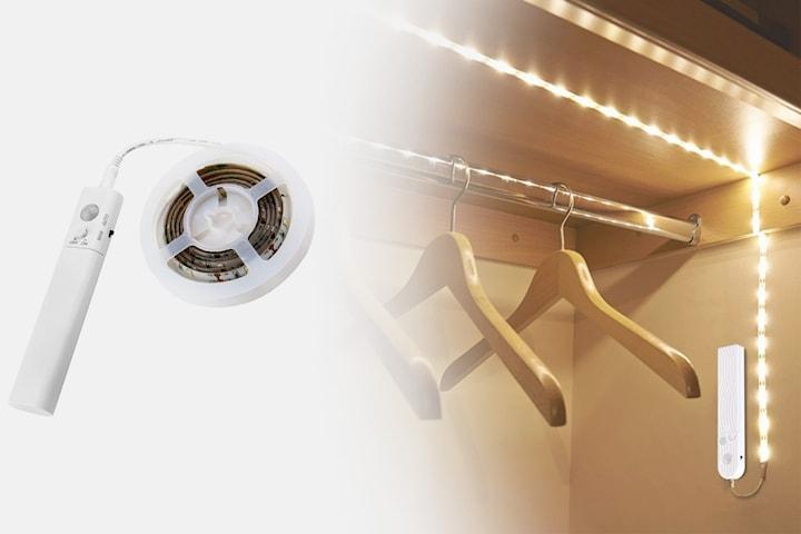 Bevegelsesaktivert LED-lysstripe