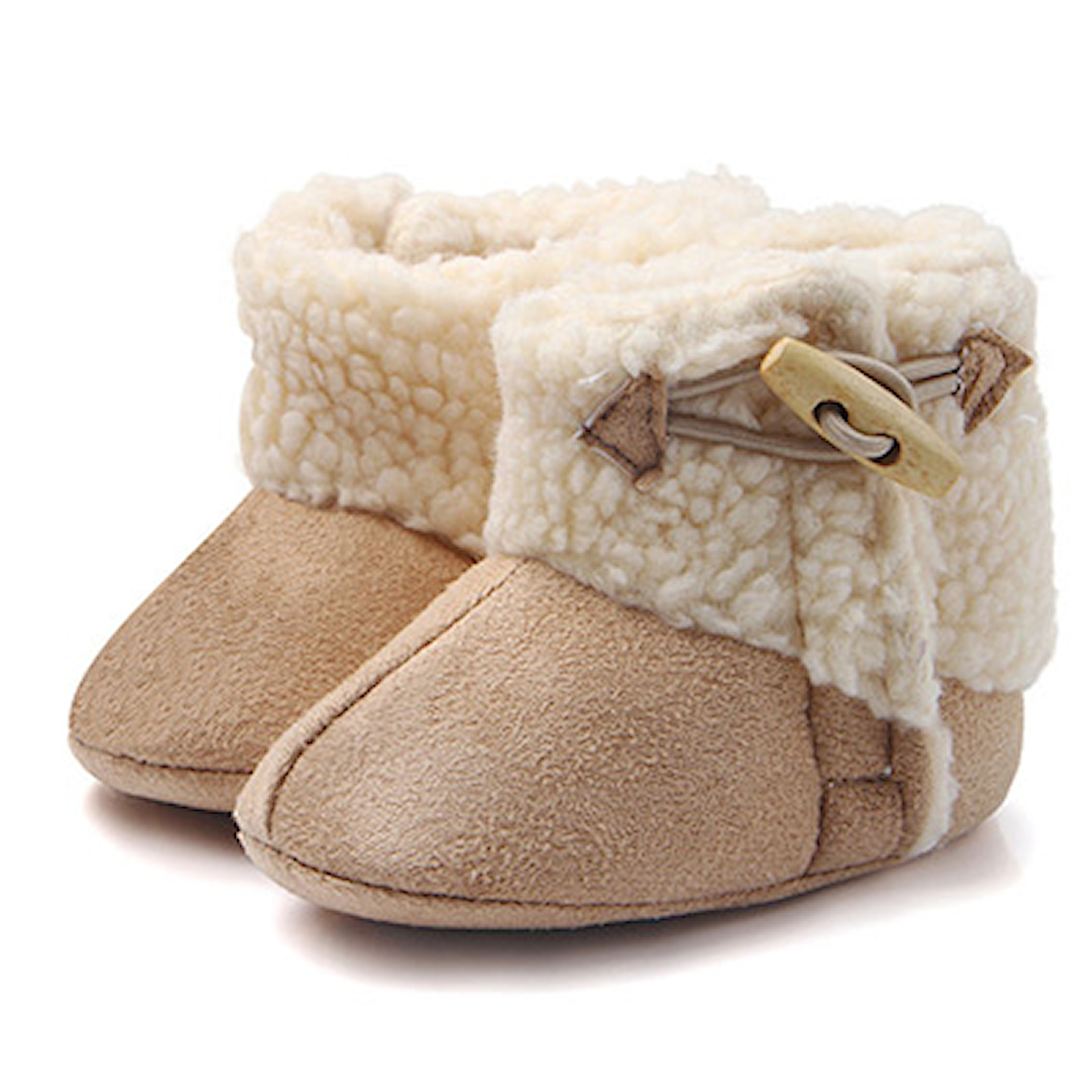 Beige, 13, Baby Winter Booties, Boots i barnmodell, ,