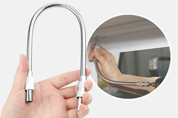 Fleksibel drill-aksel