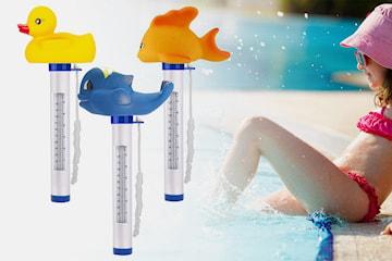 Flytende termometer for svømmebasseng