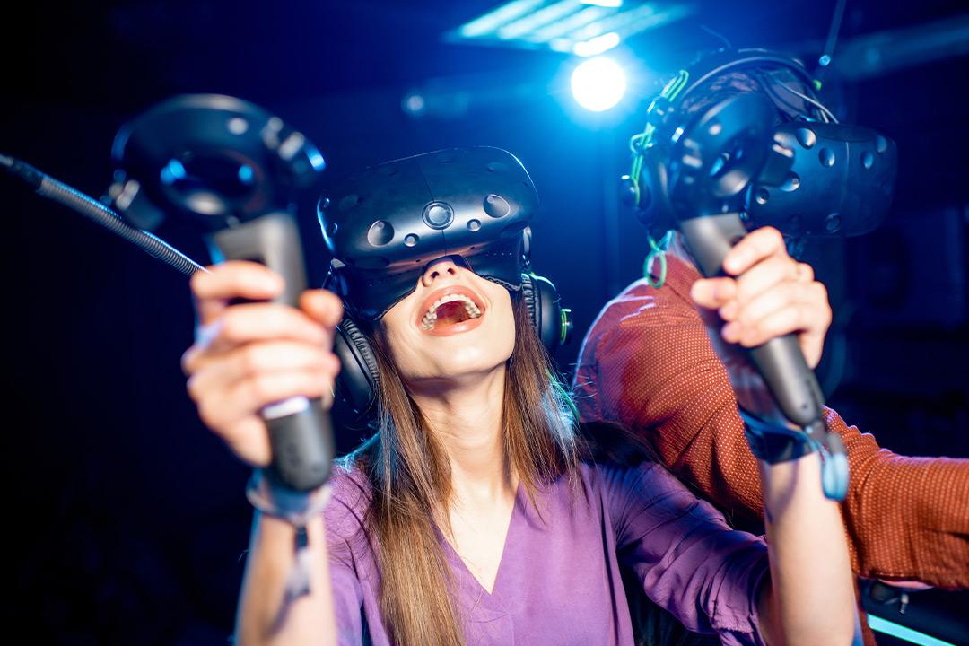 Inngangsbillett til VRDEN - opplevelsessenter i virtuell virkelighet (1 av 1)