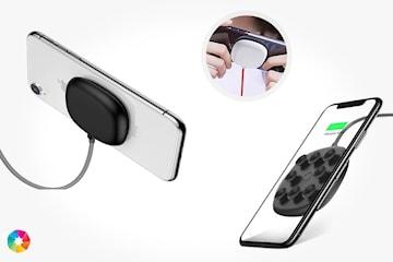 Trådlös laddare för smarttelefon
