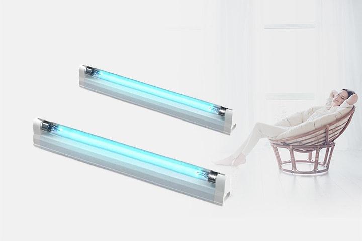 UV-lampe med desinfiserende funksjon