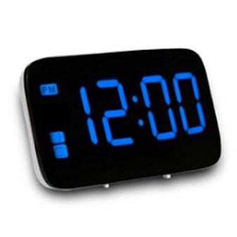 Blå, Large LED Digital Alarm, Digital vekkerklokke med LED, ,