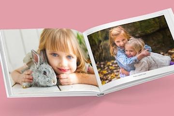 Hardcover fotobok - den koseligste julegaven til hele familien