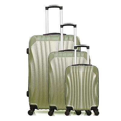 Grön, Set of 3 suitcases, Moscou-A , set med resväskor 3 storlekar,  (1 av 1)