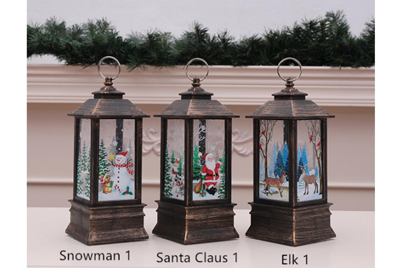 Julelys dekorasjon