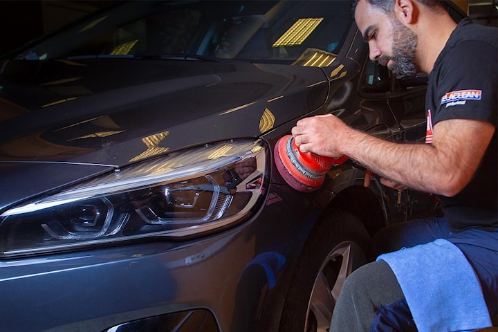 VIP bilvask både innvendig og utvendig hos Helsfyr Bilvask