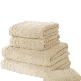 Beige, 6-pack Soft Towels, Mjuka handdukar, 6-pack, ,