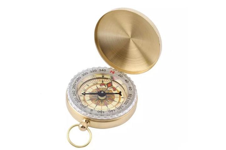 Klassisk Kompass i Mässing