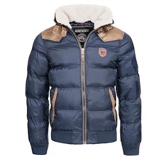Marineblå, XXL, Geographical Norway, Winter Jackets, Geographical Norway vinterjakke, ,