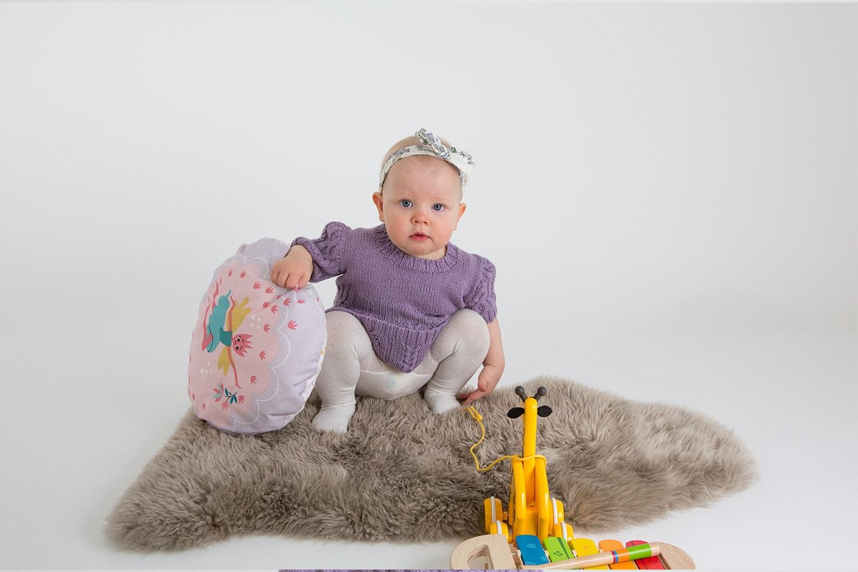 Få profesjonell fotograf til å ta bilder av dine små hos Fotograf Rildå