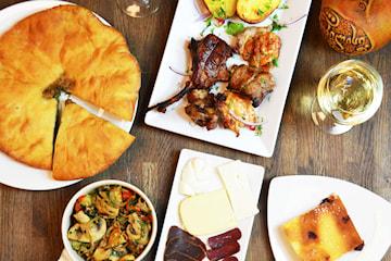 3-rätters middag inkl. cava på Tiflisi Restaurang & Grill