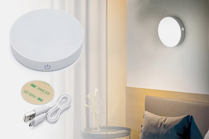 Dimbar lampa med touchfunktion