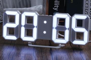 Digital klokke LED-lys