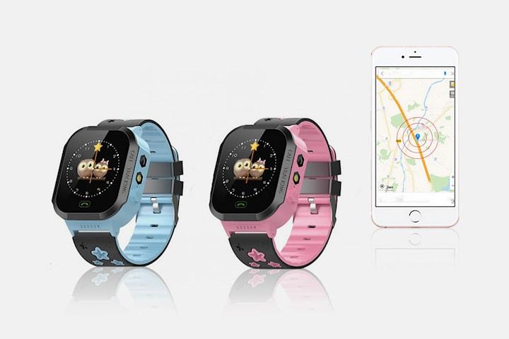 Smartklokke med GPS for barn