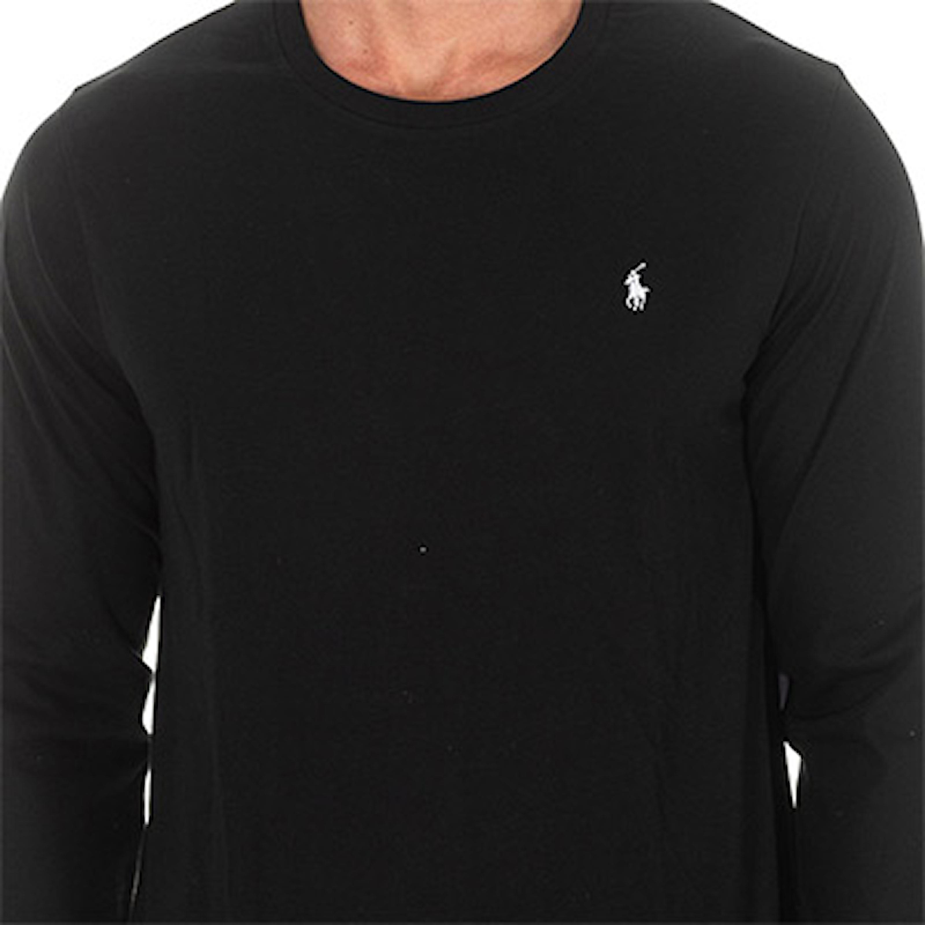 Svart, L, Long Sleeve Ralph Lauren, Långärmad tröja från Ralph Lauren, ,