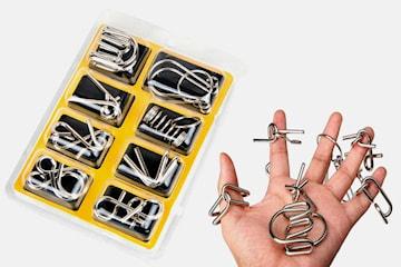 Metallpussel för knep- och knåp-fantasten