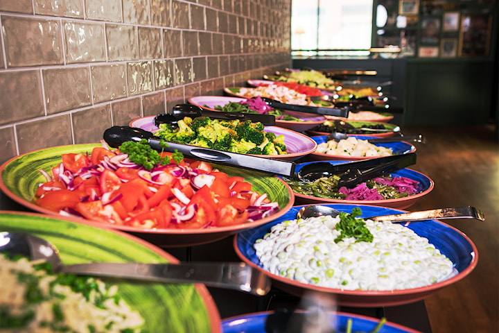 Lunchbuffé inkl måltidsdryck på O'Learys Gränbystaden