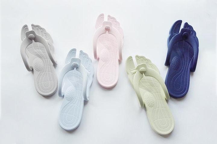 Vikbara flip-flop