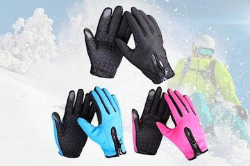 Vind- og vanntette touch-hansker