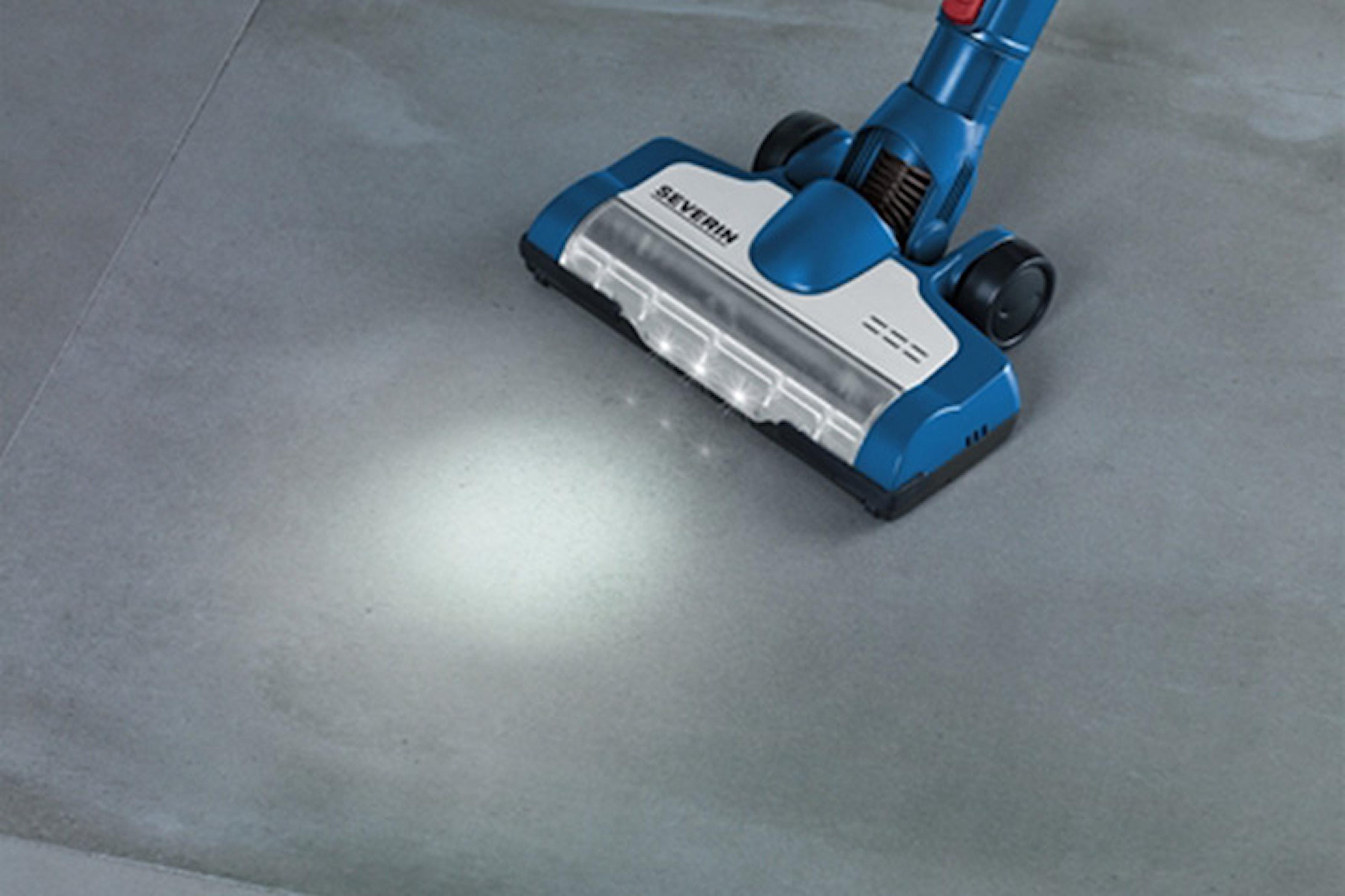Skaftdammsugare – förbättrat golvmunstycke