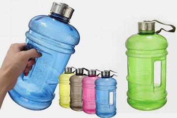 Stor vattenflaska 2,2 liter