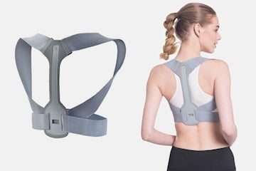 Justerbart støttebelte for skulder og rygg
