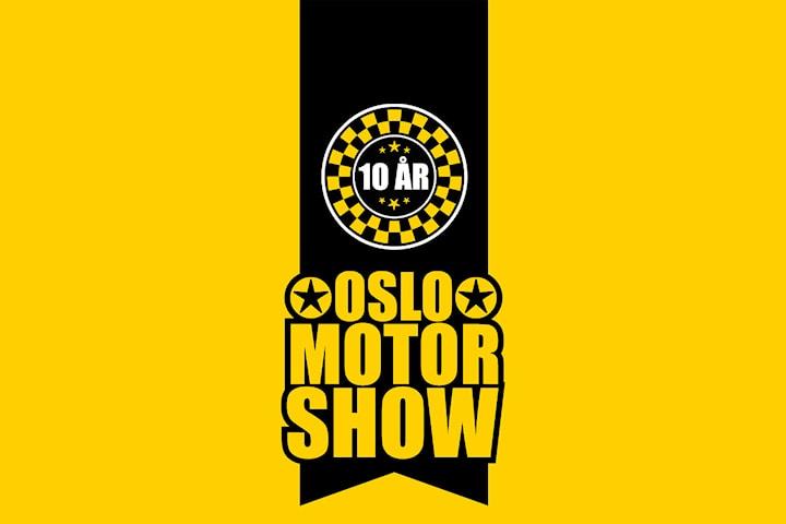 Billetter til Oslo Motor Show 25. oktober 2019 - Norges heftigste motorshow, 10 års jubileum!