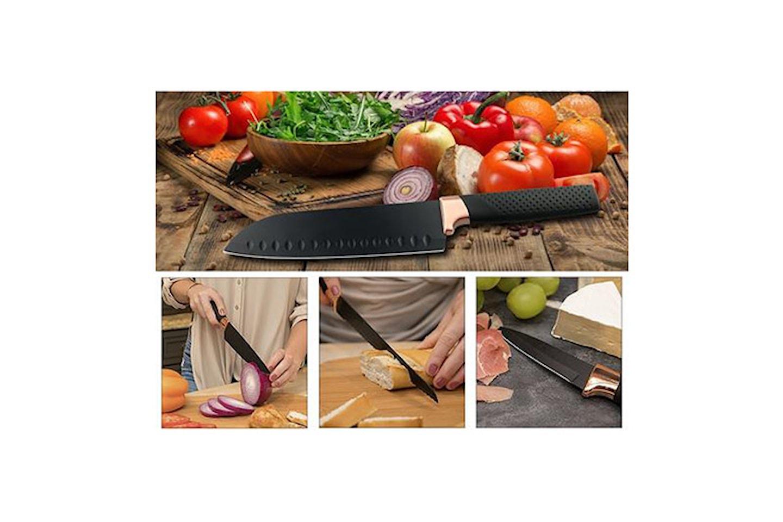 Kockknivar med titanbeläggning