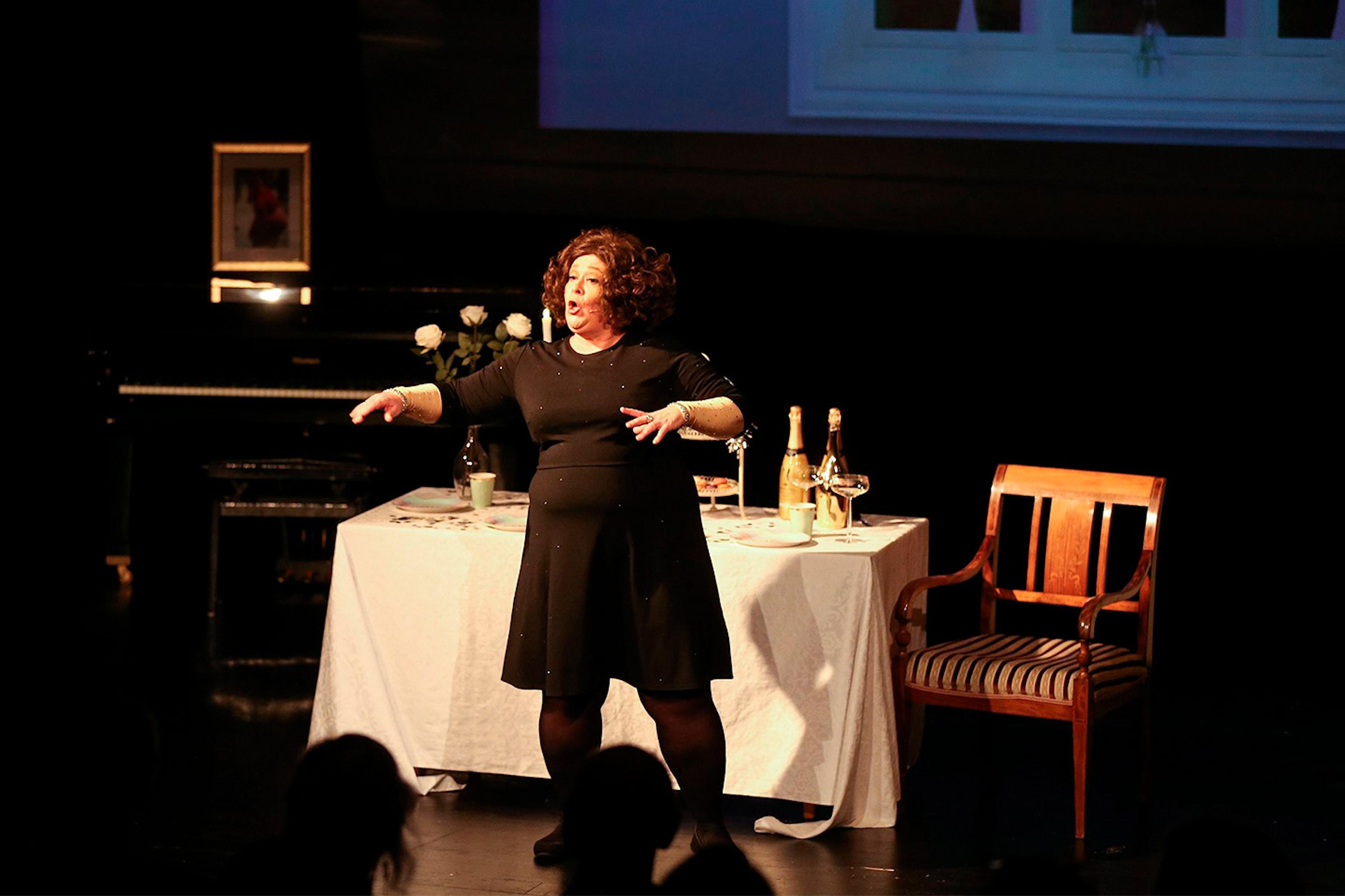 Rigmor Galtung er endelig tilbake med nytt solo show