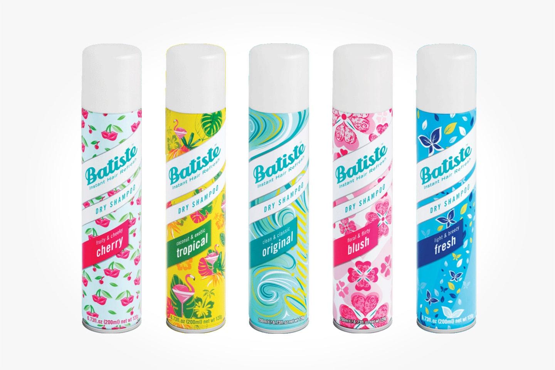 3-pack Batiste torrschampo