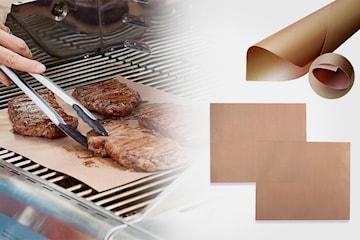 Grillmatta med teflonyta, 2- eller 4-pack
